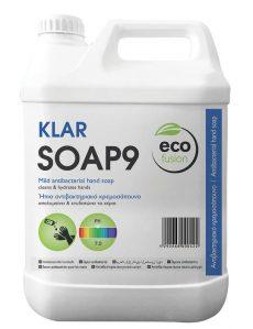 Ήπιο αντισηπτικό σαπούνι χεριών 5l